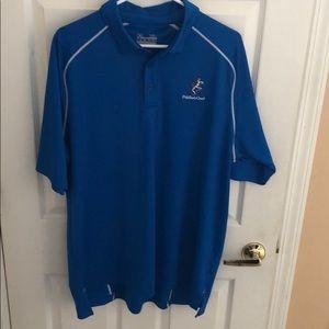 Under Armour XL blue Loose Heat gear Shirt Men's